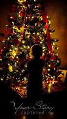 Joy of Christmas (Your Story Captured) Tags: santa lighting christmas tree lights waiting holidays child joy gifts ornaments presents amazement