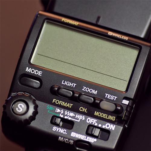 AF-540FGZ Control Panel