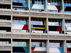 Corbusierhaus Berlin (* galaad *) Tags: color berlin colors architecture arquitectura lecorbusier couleur unitdhabitation brutalisme corbusierhaus