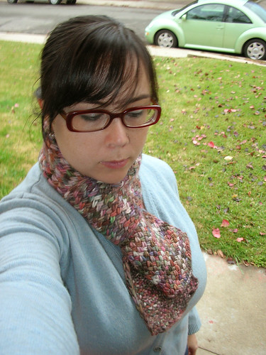 Cross Stitch Scarf II