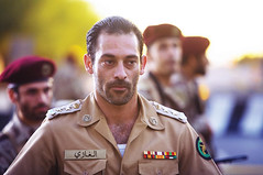 El actor Ashraf Barhoum