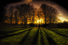 The Winter Solstice (BarneyF) Tags: park winter light sunset shadow liverpool solstice hdr sefton anawesomeshot superhearts proudshopper