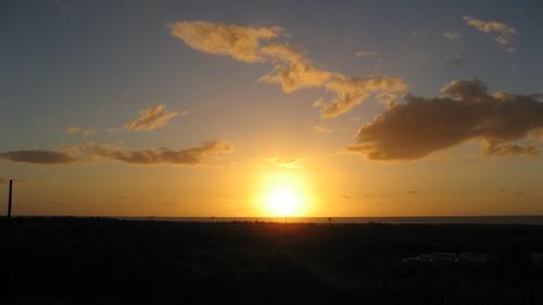 Sunset in Barrytown