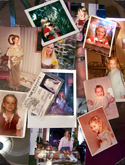 Day 106 13 Things (ladyhawke365) Tags: pictures christmas old school portrait baby glass cat self table kid strawberry toddler child dress adult photos id under things teen prom card montage sunflower teenager 1970s 13 1980s 1990s shortcake 365days 365set