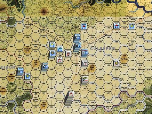 Burnside Takes Command - Yankee captures Culpeper