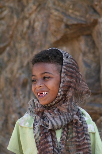 Eritrean child - smile