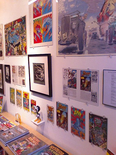 """Rebel Visions"" exhibit, Fantagraphics Bookstore & Gallery"