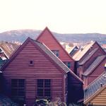 Bergen: From the street Øvregaten