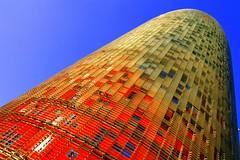 Torre AgBAR** (ibrotons (aka irlandainquieta)) Tags: barcelona espaa spain bcn 2008 agbar obliquemind obliquamente ignaciobrotns jshxbasbd2 lhlehoir3