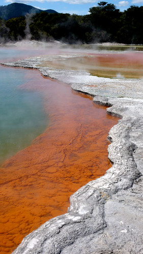 Wai-O-Tapu's colors are insane