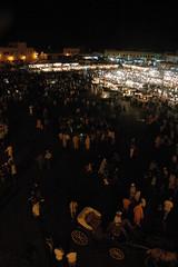 Djemaa el Fna 1 (simonnnn) Tags: morocco marrakech djemaaelfna