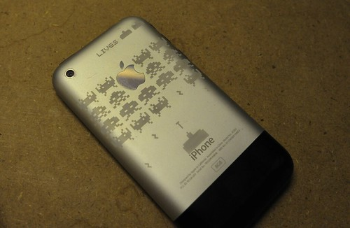 iPhone Etched
