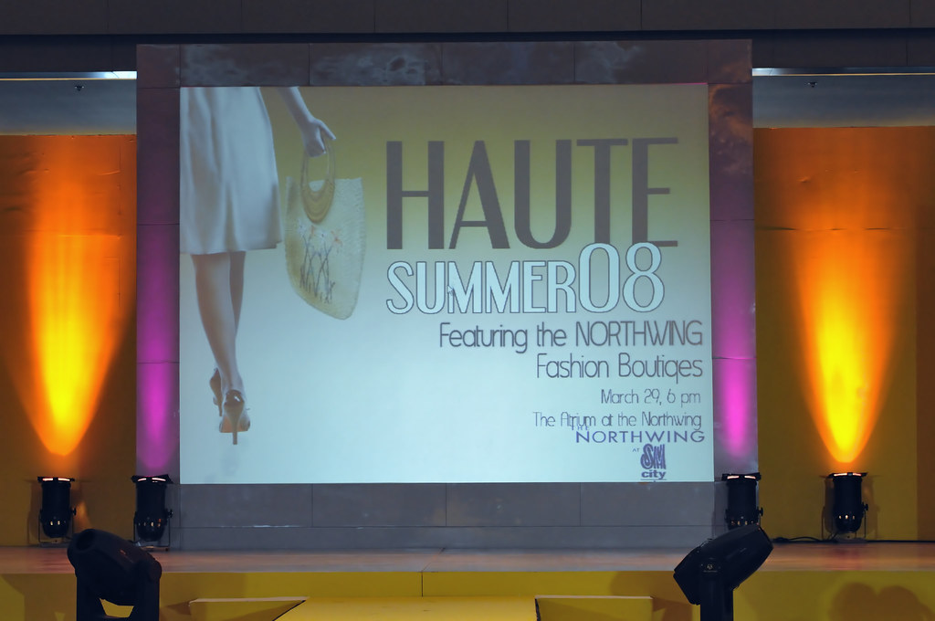 HAUTE Summer 2008 - Fashion Show Event