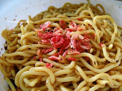 愛麵族炒麵櫻花蝦