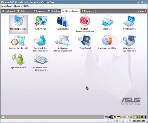 Eee PC 900 Xandros