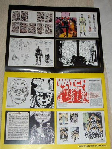 Watching the Watchmen sample spreads