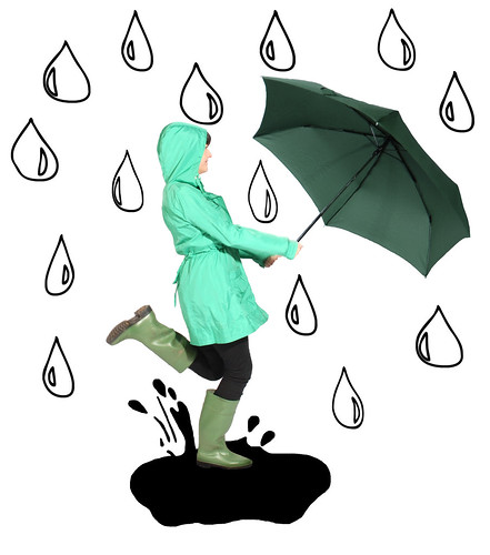 zo jumps in rain again by loutomlinson.