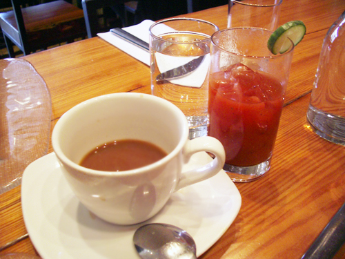 coffee & bloody maria @ macondo