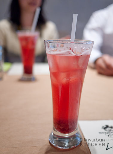 Sparkling Lingonberry Juice