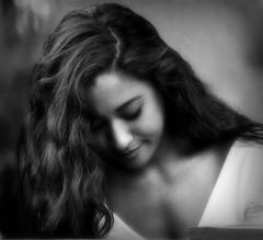 A First Friday Barmaid at the 621 Gallery in B&W (buddhadog) Tags: femaleportrait barmaid 621gallery blackandwhite pp 100vu 500vu d90 mm108 ccc sweeper challengeyouwinner 3wins 1000vu 2000vu 2000 45faves