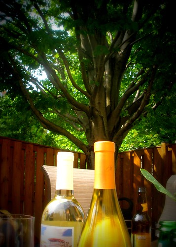 tree and wine