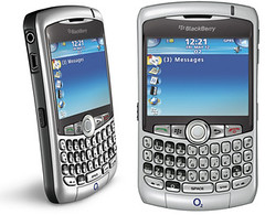 Blackberry Curve 8300: Movil con Pantalla LCD y teclado QWERTY