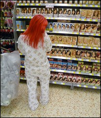 Some things just can't wait 'till morning (Cul 9) Tags: supermarket toon morrisons pyjamas newcastleupontyne byker digitalcameraclub