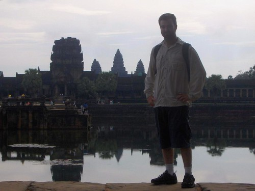 Taylor and Angkor Wat
