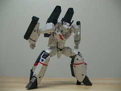 IMG_3848 (GogDog) Tags: fast super valkyrie macross hikaru kaiyodo ichijo packs vf1 revoltech gunpod vf1j ichijyo