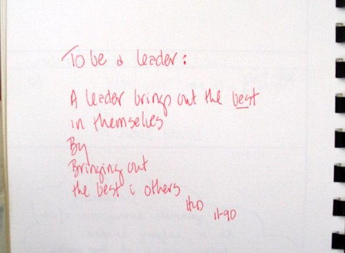 personal philosophy on leadership and mamagement Leadership statement as a result of reflecting on my accomplishments and activities in leadership in art  things about my personal leadership style.