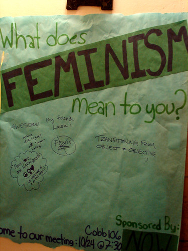 What does feminism mean to you? by quinn.anya flickr