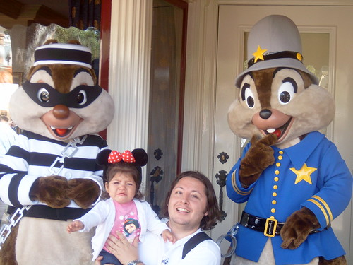 Io cries at Chip and Dale