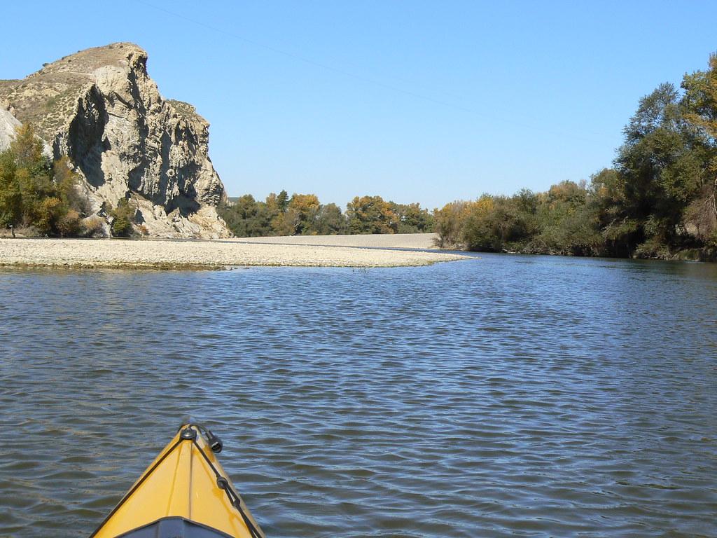 Río Aragón con el Arga en Otoño 008