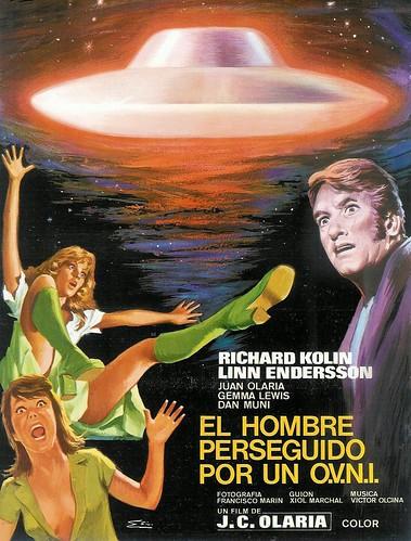 Hombre Perseguido Por Un Ovni - 1976