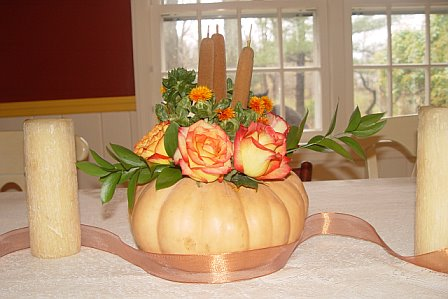 Thanksgiving centerpiece I made last year