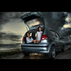 Baggage (Soul101) Tags: beach car sunrise philippines rear wave compartment passenger baggage hdr norte myel bagasbas daet supershot camarines abigfave platinumphoto lhet goldenphotographer soul101