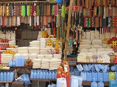 India - Haridwar - 006 -  shops sell every devotional need for the pilgrims (mckaysavage) Tags: india shop market bazaar pilgrimage puja haridwar uttarakhand