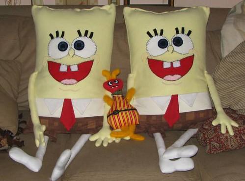 Spongebob and Bernie