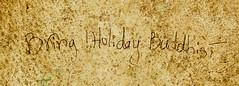 Bring !Holiday Buddhist