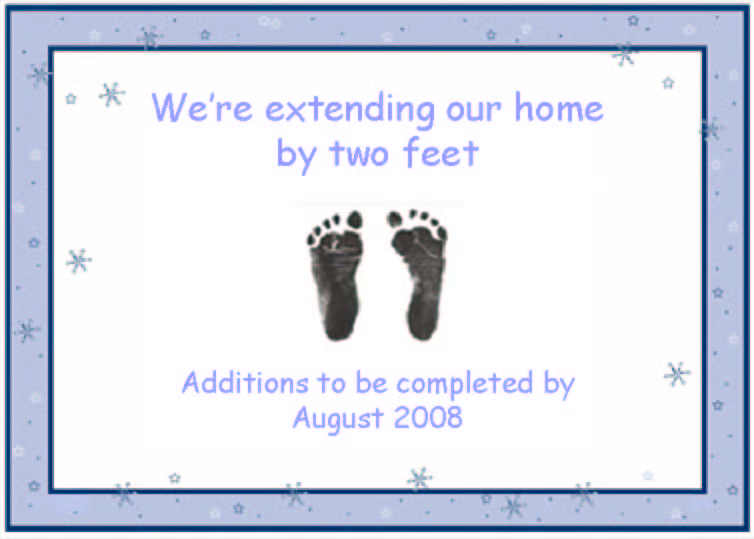 Our Baby Announcement