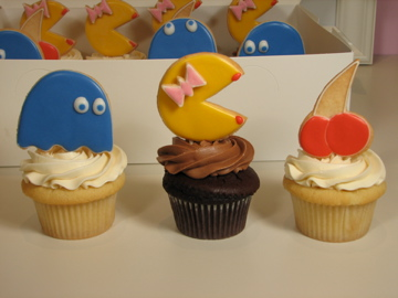 Ms. Pacman cupcakes from Flour Patch Bakery