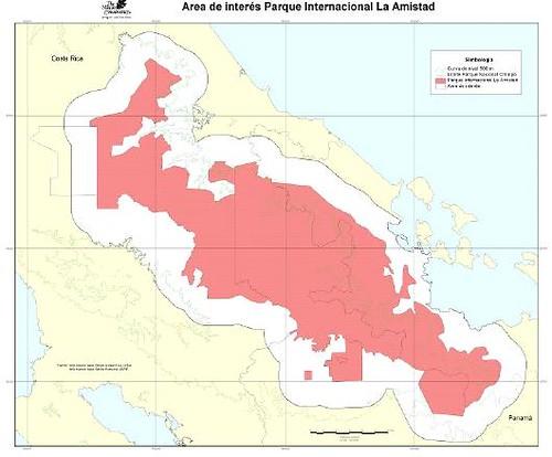 La Amistad Biosphere Reserva Panama Costa Rica and World Heritage Site