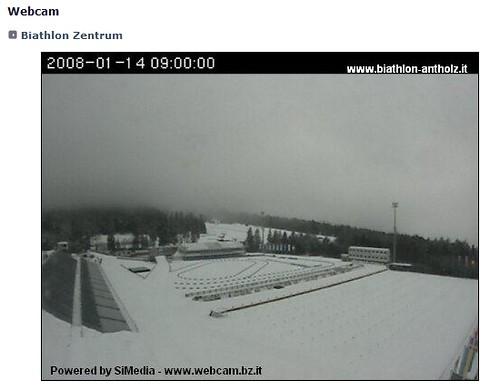 Webcam Biathlon Stadion Antholz