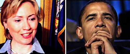 clinton - Obama
