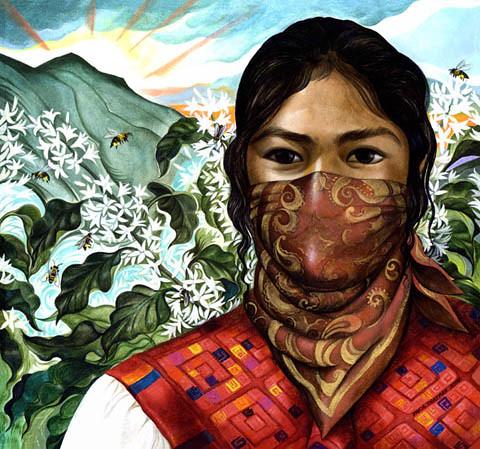 Zapatista Woman
