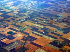 The Great North America Geography Quiz (Nancy Rose) Tags: view aerial heartland patchwork soe cropcircles irrigation blueribbonwinner cropfields fromanairplane abigfave