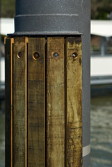 Part of a Pontoon at a Brisbane Ferry Terminal (Craig Jewell Photography) Tags: ferry iso100 timber steel terminal bollard pontoon bolted f35 11600sec pentaxk10d justpentax cpjsm craigjewellphotography