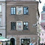 "Warsaw: Dziewoje ( Mural paintings ""Girls"" painted in 1929 by Z. Stryjenska, incorporated in the reconstructed building)"