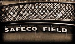 Safeco Field - Sepia Lomo