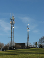Local TV masts (Helen in Wales) Tags: masts earlyspring